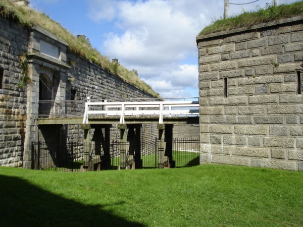 Gate to the Halifax citadel
